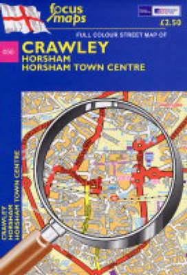 Crawley: Horsham,Horsham Town Centre (Sheet map, folded)