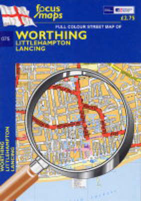 Worthing: Littlehampton,Lancing (Sheet map, folded)