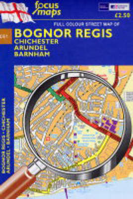 Full Colour Street Map of Bognor Regis: Chichester - Arundel - Barnham (Sheet map, folded)