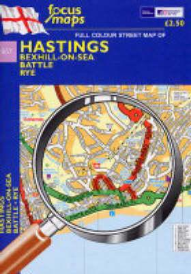 Hastings: Bexhill on Sea,Battle,Rye (Sheet map, folded)