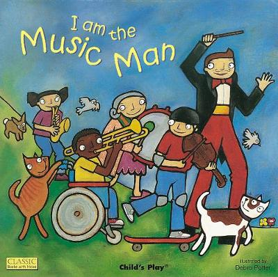 I am the Music Man - Classic Books with Holes UK Soft Cover with CD (Paperback)