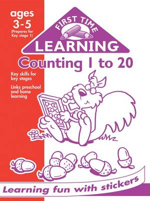 Counting 1 to 20 - First Time Learning (Paperback)