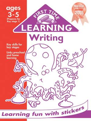 Writing 3-5 - First Time Learning (Paperback)