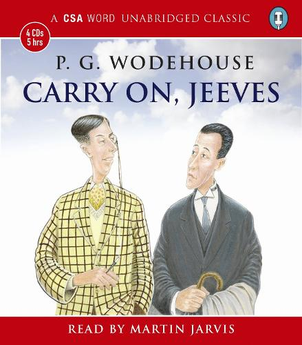 Carry On Jeeves (CD-Audio)