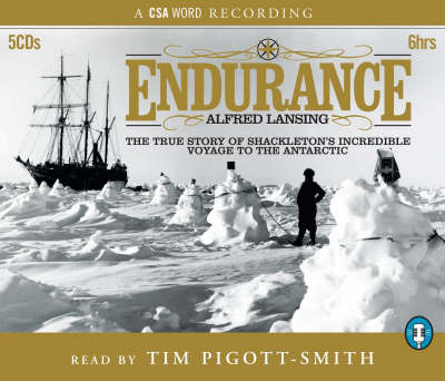 Endurance: True Story of Shackleton's Voyage in the Antarctic (CD-Audio)