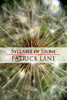 Syllable of Stone - ARC International Poets (Paperback)