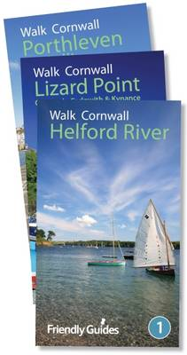 Walk Cornwall Collection: Helford, Lizard Point, Porthleven (Paperback)