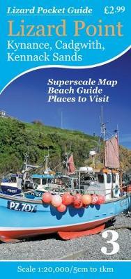 Lizard Point: Kynance, Cadgwith, Kennack Sands - Lizard Pocket Guides 3 (Sheet map, folded)