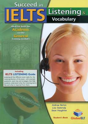 Succeed in IELTS - Listening & Vocabulary - Student's Book (Board book)