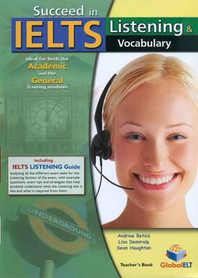 Succeed in IELTS - Listening & Vocabulary - Teacher's Book (Board book)
