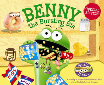 Benny the Bursting Bin - Hoo Ha House S. (Paperback)