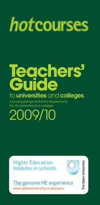 Hotcourses' Teachers Guide 2009/10 (Paperback)