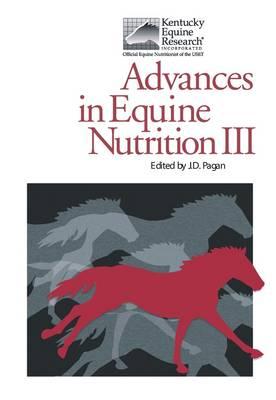 Advances in Equine Nutrition: v. 3 (Hardback)