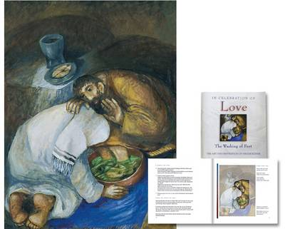 In Celebration of Love - The Washing of Feet Poster Set - Art and Inspiration of Sieger Koder