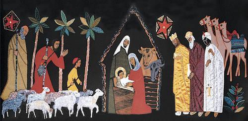 Nativity: Tapestry - Turvey Abbey (Poster)
