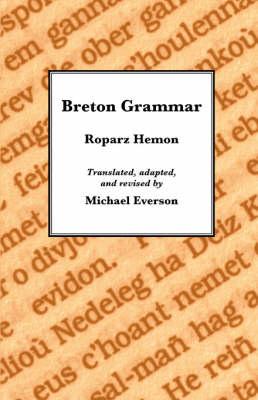Breton Grammar (Paperback)