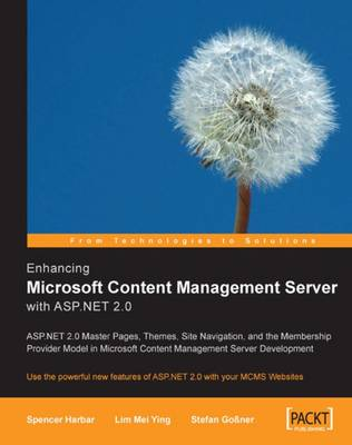 Enhancing Microsoft Content Management Server with ASP.NET 2.0 (Paperback)