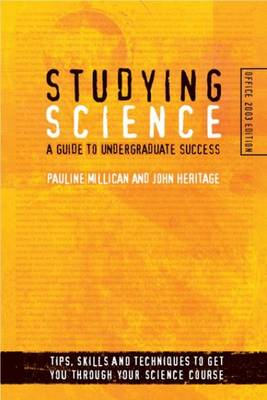 Studying Science (Microsoft Office 2003 Edition): A Guide to Undergraduate Success (Paperback)