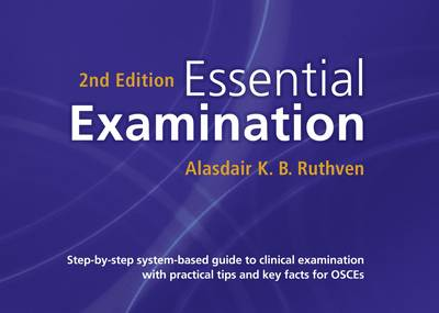 Essential examination by alasdair k b ruthven waterstones essential examination step by step system based guide to clinical examination with fandeluxe Gallery
