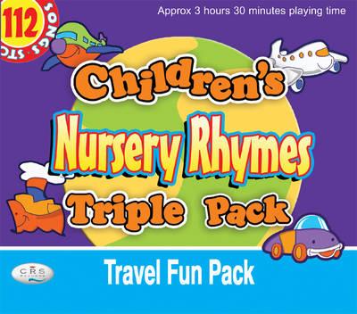 Children's Nursery Rhymes Triple Pack: Travel Fun Pack (CD-Audio)