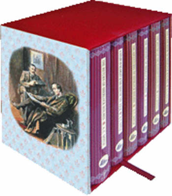 Sherlock Holmes 6-Book Boxed Set: Containing: The Adventures of Sherlock Holmes, The Casebook of Sherlock Holmes, The Hound of the Baskervilles & The Valley of Fear, The Memoirs of Sherlock Holmes, The Return of Sherlock Holmes & His Last Bow, A Study in Scarlet & The Sign of the Four