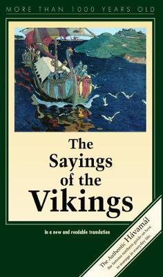 Sayings of the Vikings: Havamal (Paperback)