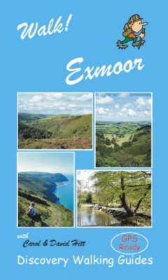 Walk! Exmoor - Walk! (Spiral bound)