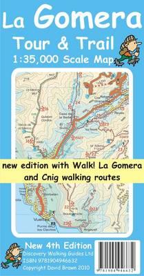 La Gomera Tour and Trail Map 2010 - Tour & Trail Maps (Sheet map, folded)