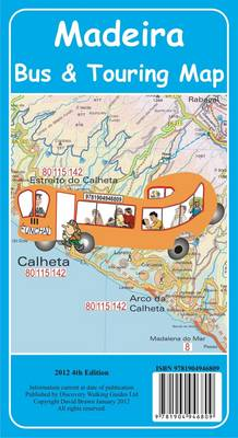 Madeira Bus & Touring Map 4th Edition 2012 (Sheet map, folded)