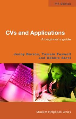 CVs and Applications: A Beginner's Guide (Paperback)