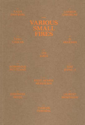 Various Small Fires (Paperback)