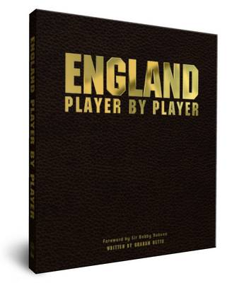 England Player by Player (Leather / fine binding)