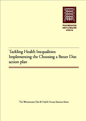 Tackling Health Inequalities: Implementing the Choosing a Better Diet Action Plan (Paperback)