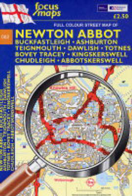 Full Colour Street Maps of Newton Abbot: Buckfastleigh,  Ashburton, Teignmouth, Dawlish Totnes, Bovey Tracey, Kingskerswell, Chudleigh Abbotskerswell (Sheet map, folded)