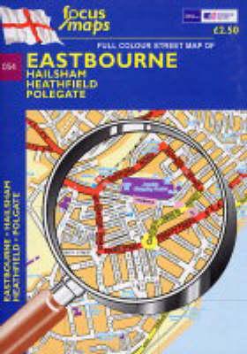Eastbourne: Hailsham, Potegate (Sheet map, folded)