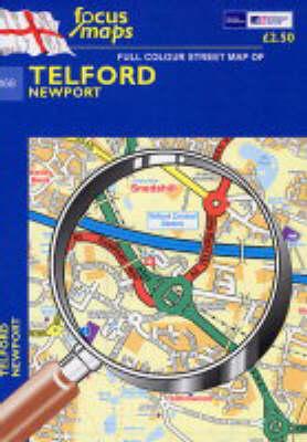 Full Colour Street Map of Telford: Newport (Sheet map, folded)