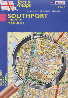 Southport: No. 107: Formby, Maghull (Sheet map, folded)