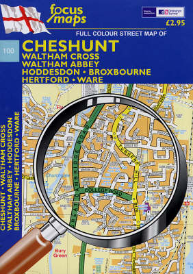 Cheshunt by Focus Maps Waterstones
