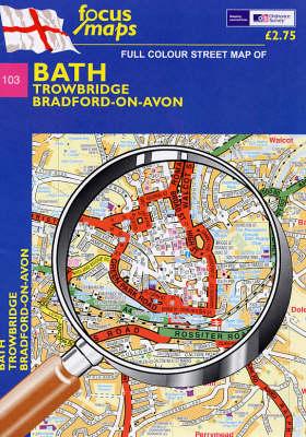 Bath: Trowbridge, Bradford-on-Avon (Sheet map, folded)