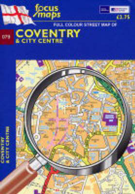 Coventry: And City Centre (Sheet map, folded)