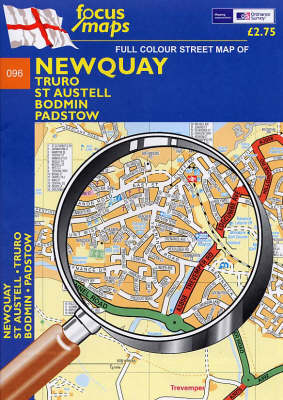 Newquay: Truro, St Austell, Bodmin, Padstow (Sheet map, folded)