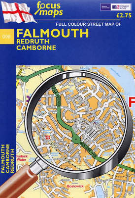 Falmouth: Redruth, Camborne (Sheet map, folded)