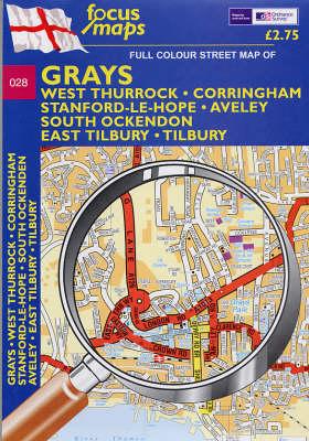 Grays: West Thurrock, Corringham, Stanford-le-Hope, Aveley, South Ockendon, East Tilbury, Tilbury (Sheet map, folded)