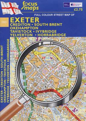 Exeter: Crediton, South Brent, Okehampton Tavistock, Ivybridge, Yelverton, Horrabridge (Sheet map, folded)