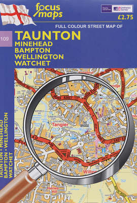 Taunton: Minehead, Bampton, Wellington, Watchet v. 109 (Sheet map, folded)