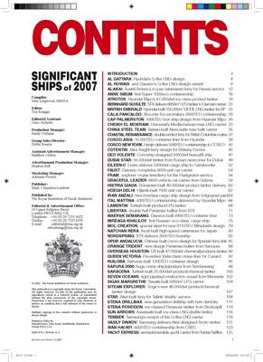 Significant Ships 2007 (Paperback)