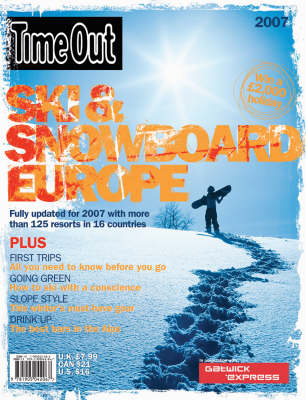 """Time Out"" Ski Guide (Paperback)"