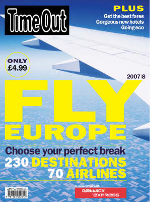 """Time Out"" Fly Europe 2007/08 (Paperback)"