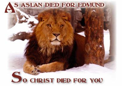 As Aslan Died for Edmund - Gospel Tract