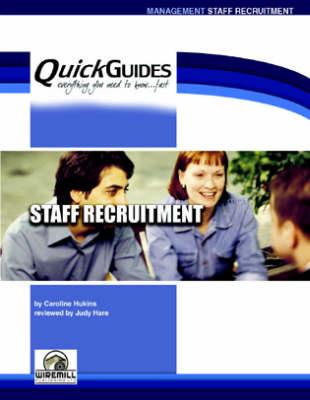 Staff Recruitment - Quickguides S. (Paperback)